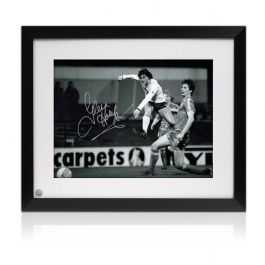 Glenn Hoddle Signed And Framed Tottenham Hotspur Photo: Road To Wembley