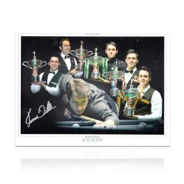Ronnie O'Sullivan Signed Snooker Photo: Five Times World Champion