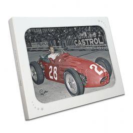 Stirling Moss Signed Formula One Photo: Monaco Winner. In Gift Box