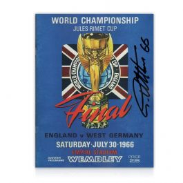 Sir Geoff Hurst Signed World Cup Programme