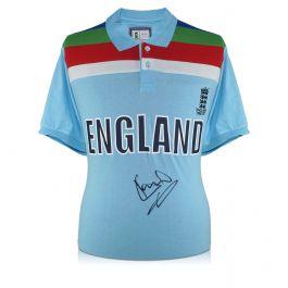 Sir Ian Botham Signed 1992 World Cup England Cricket Shirt