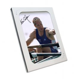 Sir Steve Redgrave Signed Photo: Five Time Olympic Champion. In Gift Box
