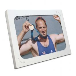 Sir Steve Redgrave Signed Photo: Sydney Gold Medal. In Gift Box