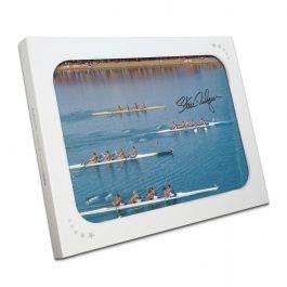 Sir Steve Redgrave Signed Photo: Sydney Photo Finish. In Gift Box