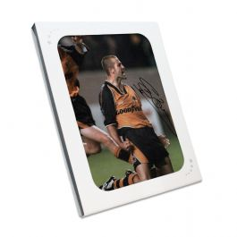 Steve Bull Signed Wolves Photo: Goal Celebration. In Gift Box