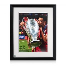 Trent Alexander-Arnold Signed Liverpool Photo: 2019 Champions League Winner Framed