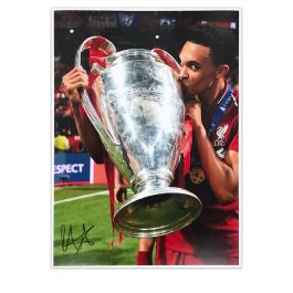 Trent Alexander-Arnold Signed Liverpool Photo: 2019 Champions League Winner
