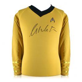 William Shatner Signed Star Trek Jersey