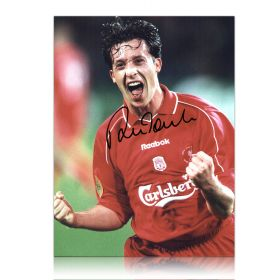 Robbie Fowler signed photo