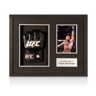 Conor McGregor Signed UFC Glove Framed