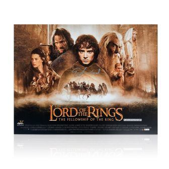 Elijah Wood Signed The Lord Of The Rings Poster