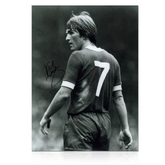 Kenny Dalglish Signed Photograph: The King's Debut
