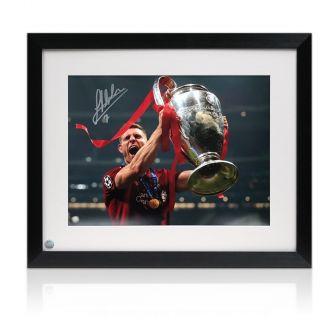 James Milner Signed Liverpool Photo: 2019 Champions League Winner Framed