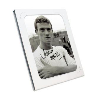 Rodney Marsh Signed Fulham Photo In Gift Box