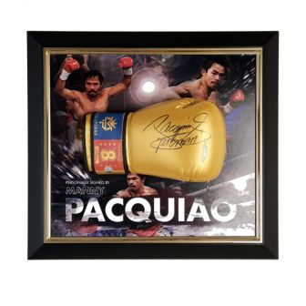Manny Pacquiao Autographed Boxing Glove