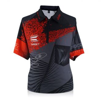 Phil Taylor Signed Darts Shirt