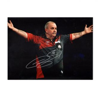 Phil Taylor Signed Photo
