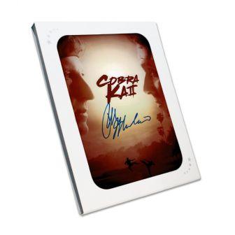 Ralph Macchio Signed Cobra Kai Season 2 Poster. In Gift Box