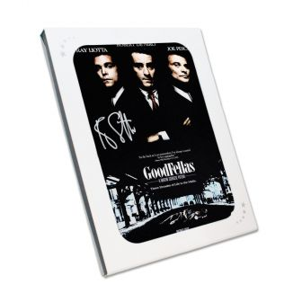 Ray Liotta Signed Goodfellas Poster. In Gift Box