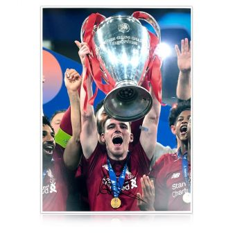 Andrew Robertson Signed Liverpool Photo: 2019 Champions League Winner