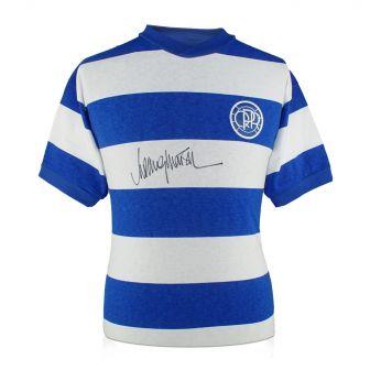 Rodney Marsh Signed Queens Park Rangers Football Shirt