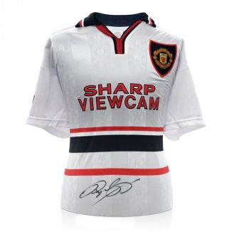 Ryan Giggs Signed Manchester United 1999 Away Shirt