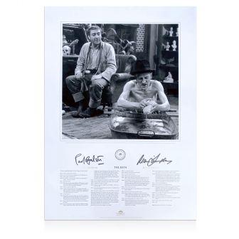 Ray Galton & Alan Simpson Signed Steptoe & Son Print: The Bath