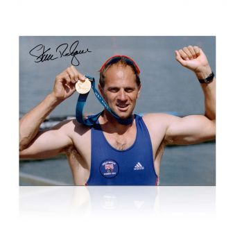 Sir Steve Redgrave Signed Photo: Sydney Gold Medal