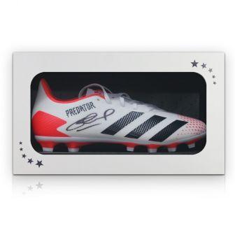 Steven Gerrard Signed Football Boot. In Gift Box