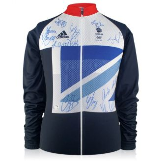 Team GB Signed 2012 Cycling Jersey