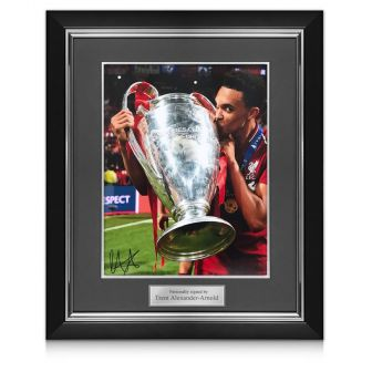 Trent Alexander-Arnold Signed Liverpool Photo: 2019 Champions League Winner Deluxe Frame