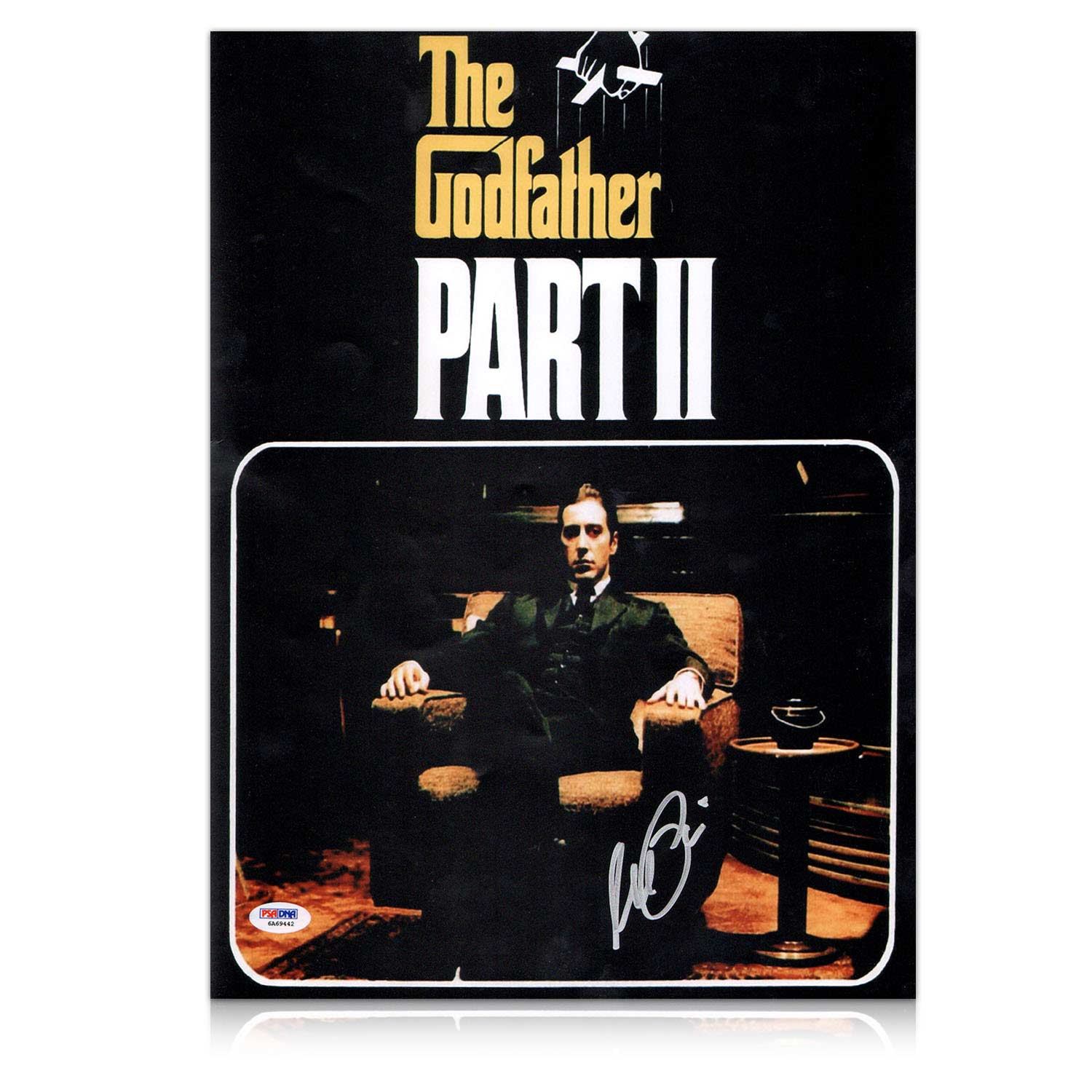Al Pacino Signed Godfather 2 Film Poster Autographed Movie ...