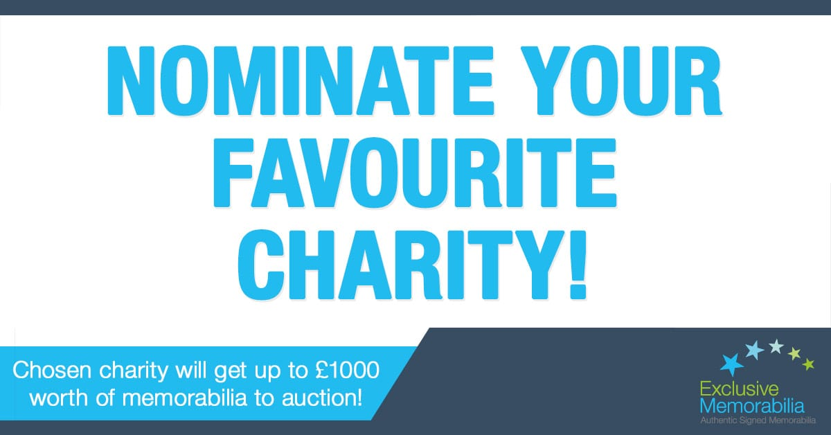 Charity of the year nominations