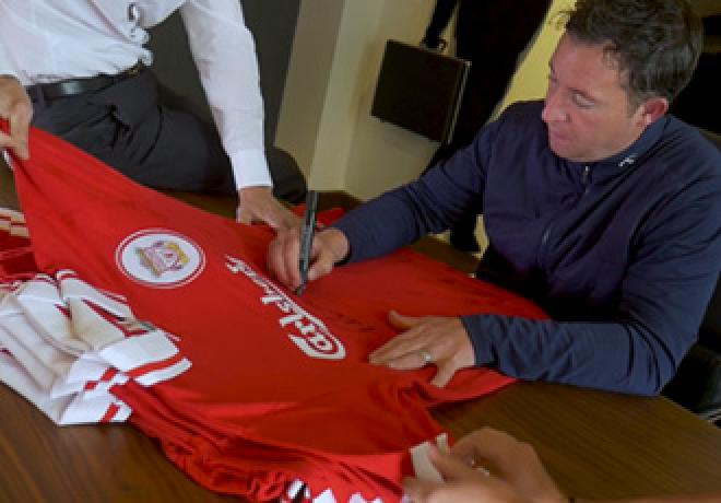 Robbie Fowler Signing Session