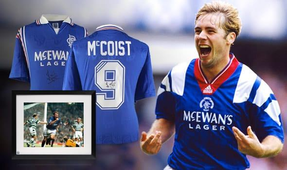 Ally McCoist New Products