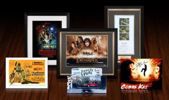 Signed Film and TV Memorabilia