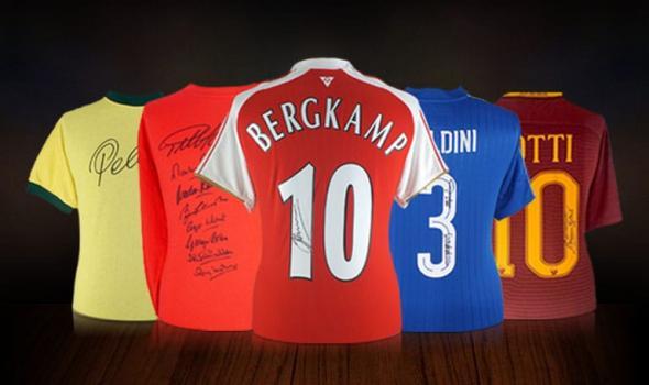 Signed Football Shirts