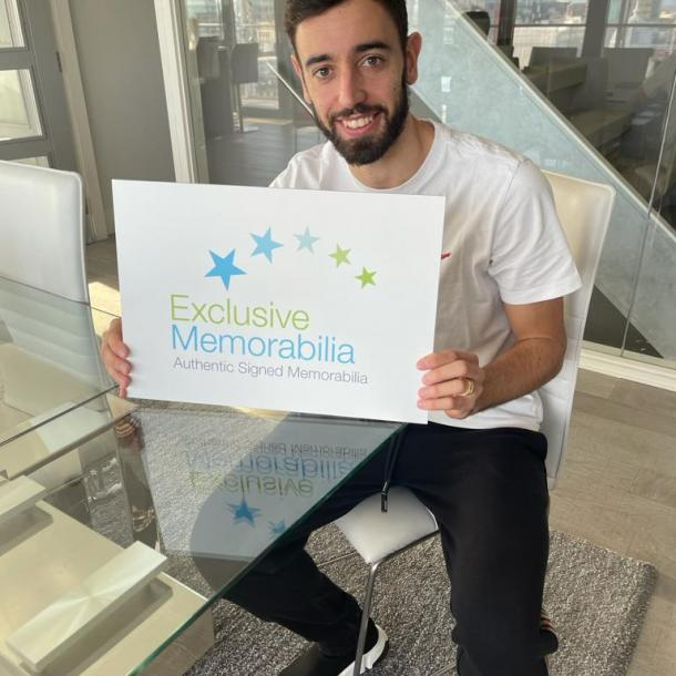Bruno Fernandes Signs For Exclusive!