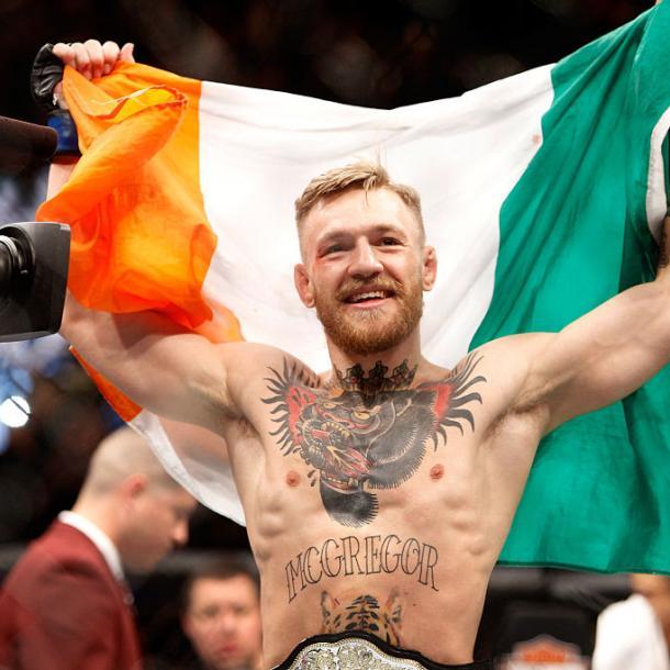 Win a Signed Conor McGregor Photo