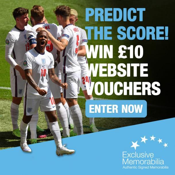 Predict the score and win a £10 voucher!