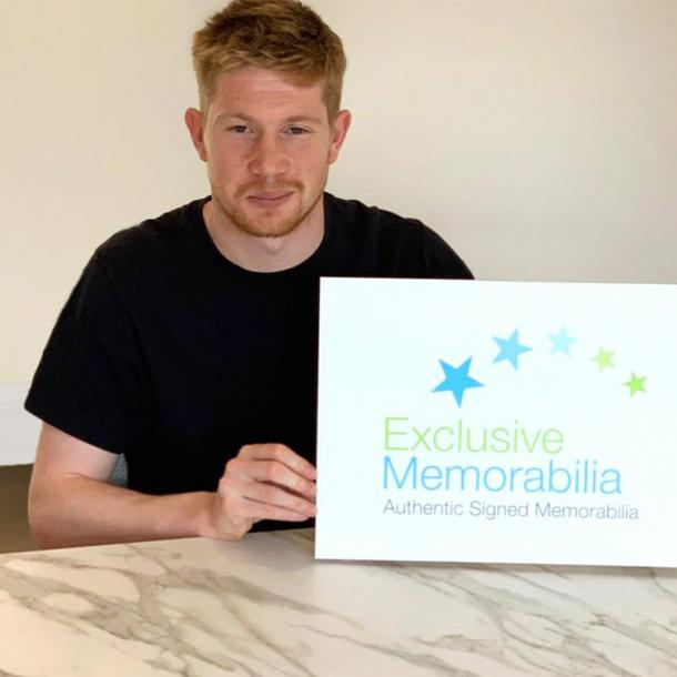Kevin De Bruyne Signs for Exclusive!