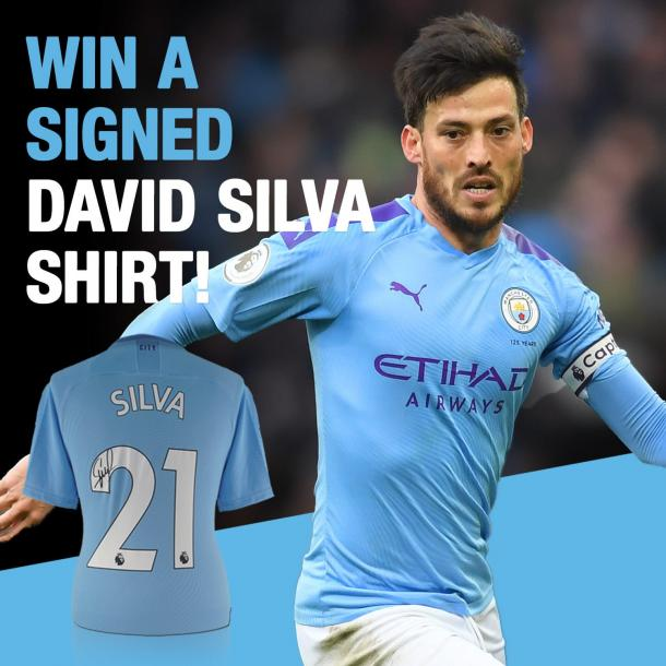 Win a David Silva Signed Shirt