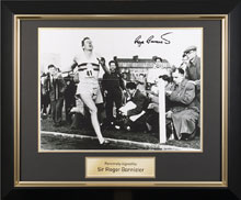 Memorabilia Framing | Framed Bannister Photo