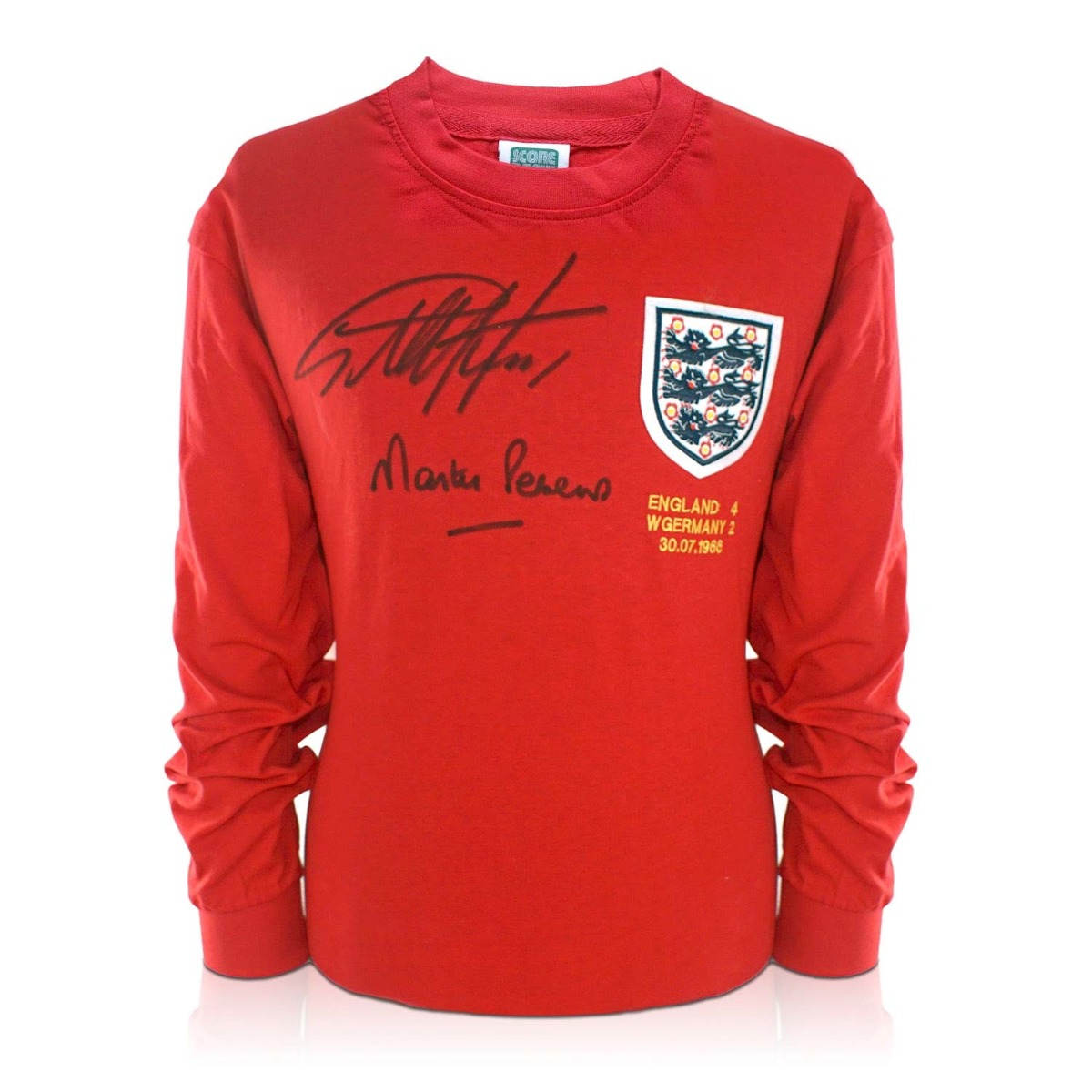 Sir Geoff Hurst And Martin Peters Signed England Football Shirt