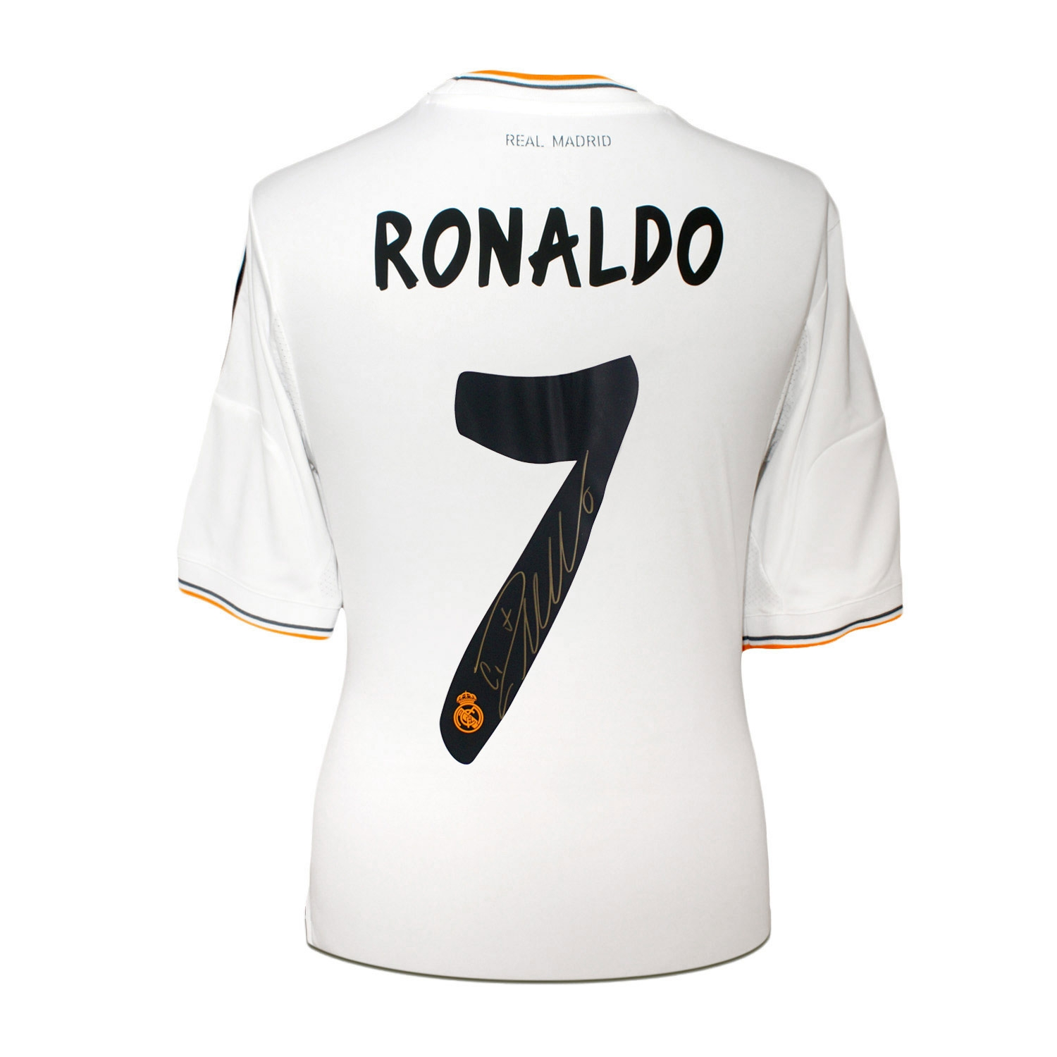 best website d19c5 82c55 Details about Cristiano Ronaldo Signed Real Madrid Football Shirt 2013 |  Soccer Memorabilia